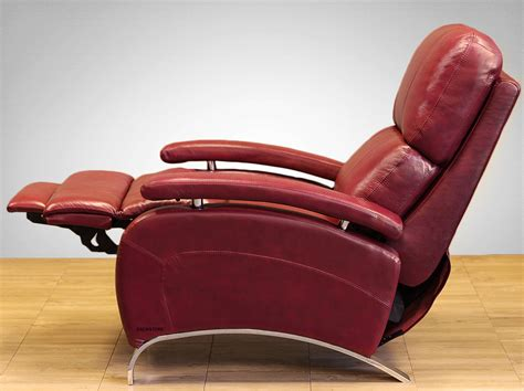 red leather recliner chairs barcalounger oracle ii genuine leather recliner lounger