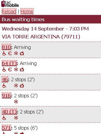 atac mobile tempi di attesa transport in rome part 2 browsingrome