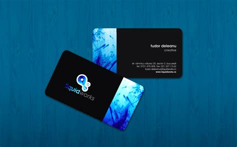 i want to make my visiting card 21 black business cards design