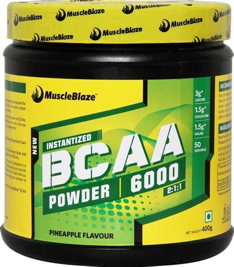 l supplements amino acids bcaa muscleblaze instantized bcaa powder 6000 amino acid