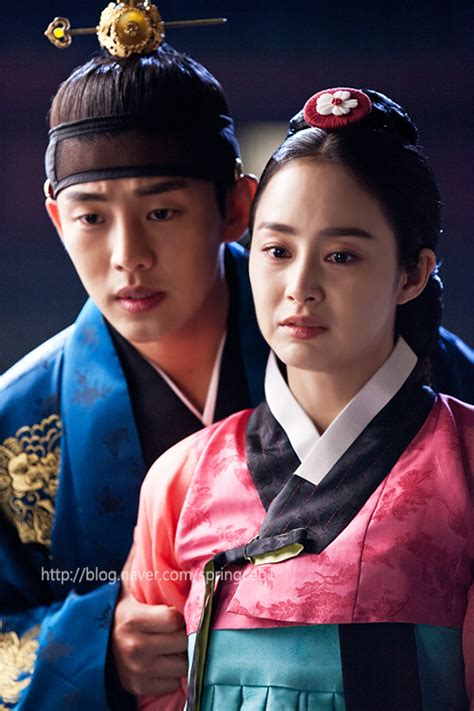 dramacool love in the moonlight romantic new stills from episode 9 of jang ok jung live