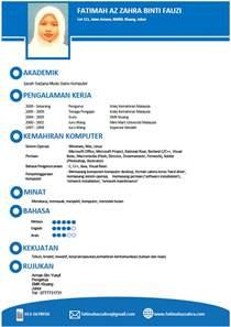 sample resume bahasa malaysia resume pdf download