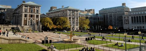 Columbia Early Admission Mba by Columbia In The City Of New York Rankings