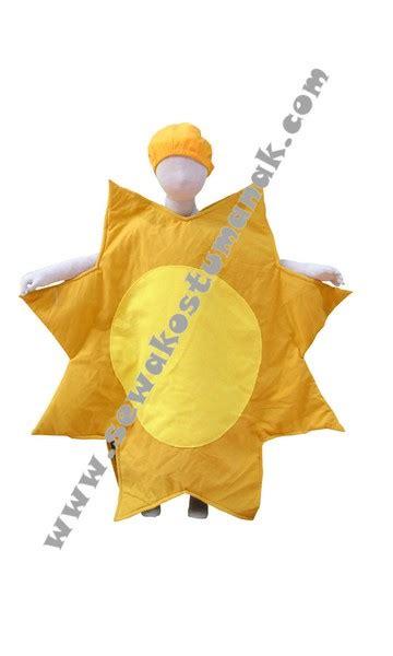 Kostum Bunga Matahari kostum matahari kostum benda langit sewa kostum anak