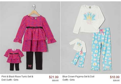 kmart dollie and me dollie me on sale at zulily as low as 11 99 set