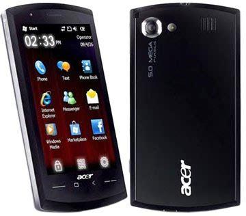 data harga handphone: acer neotouch s200