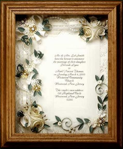 Wedding Invitations Keepsake Ideas by 15 Best Wedding Invitations Framed Keepsake Images On
