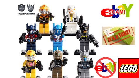 Lego Marvel The Minifig Series Bootleg lego transformers marvel minifigures rant at fakes sold