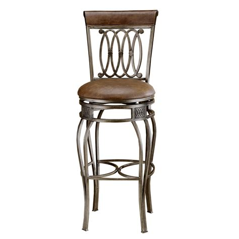 bar stool s shop hillsdale furniture 28 in bar stool at lowes com