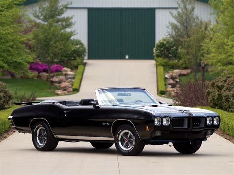 1970 pontiac gto convertible 4267 muscle classic g