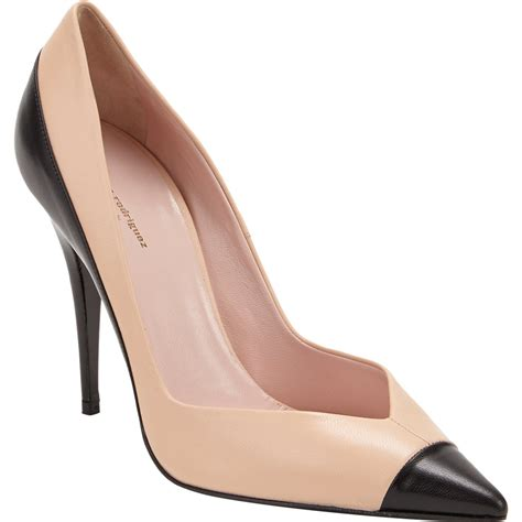Two Tone Pumps narciso rodriguez two tone pumps at barneys