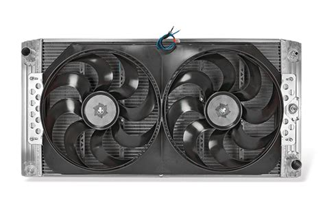 electric fans for trucks flex a fit aluminum radiator and electric fan combo is now