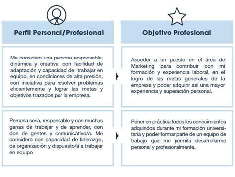 Modelo De Curriculum Vitae Perfil Profesional Modelo De Curriculum Vitae Objetivo Laboral Modelo De Curriculum Vitae