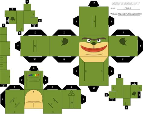 Papercraft Inc - cubeecraft monsters pictures to pin on pinsdaddy