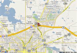 capital of florida map map of residence inn by marriott tallahassee capital
