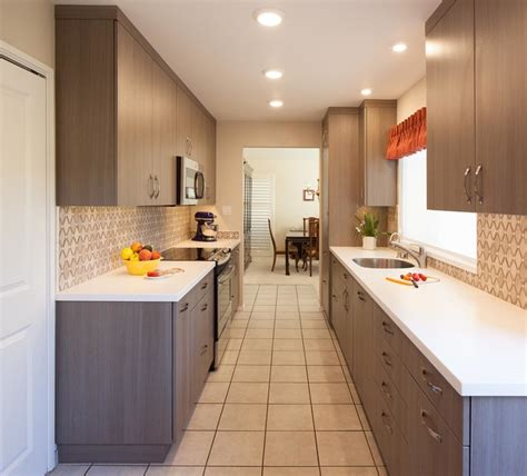 Bamboo Kitchen Alameda by Modern Galley Kitchen In Alameda Modern Kitchen San