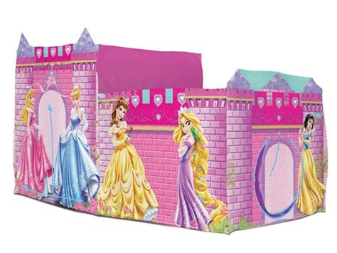 princess tent bed disney princess 2 in 1 bed topper tent kids woot