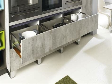 Concrete Cabinets Kitchen by Concrete Kitchen Cabinets Cool Of Bauformat Brest 186