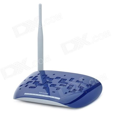 Router Blue Link tp link td w89741n 5 port 150mbps wi fi router w antenna blue grey free shipping