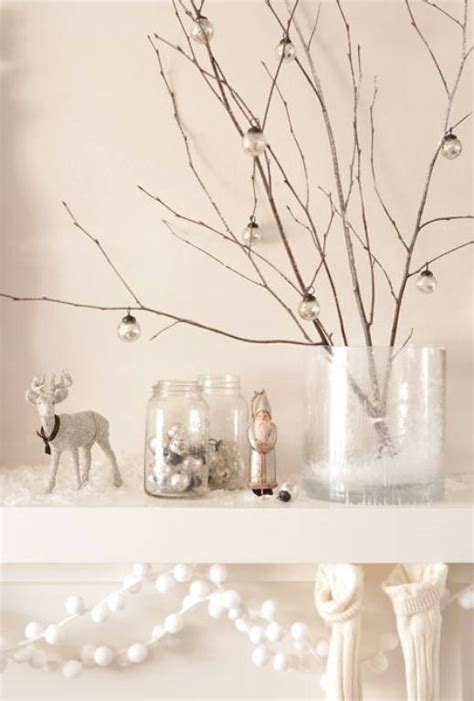 white christmas decor to create a snowy fairytale home