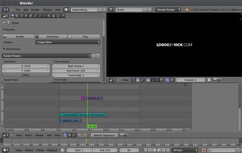 tutorial video editing blender how i make my youtube videos logos by nick