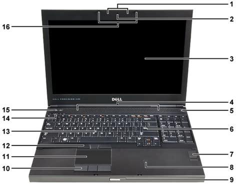 Laptop Dell Precision M4700 dell precision mobile workstation m4700 visual guide to your computer dell us
