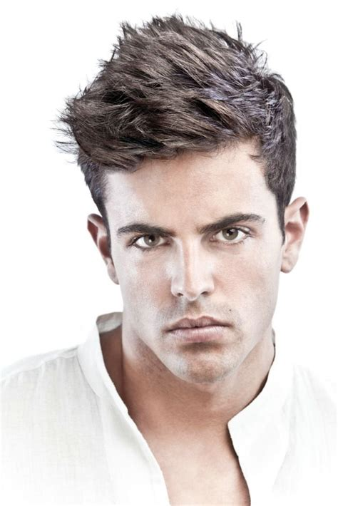 mens short hairstyles for thick straight hair hairstyles