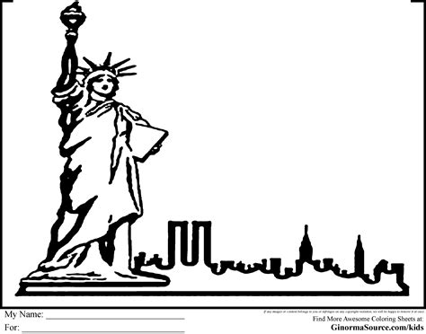 new york coloring pages rawesome co