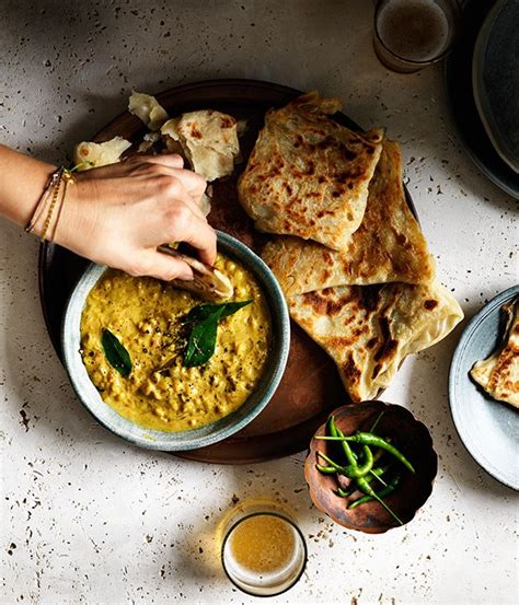 roti with chana dhal recipe gourmet traveller