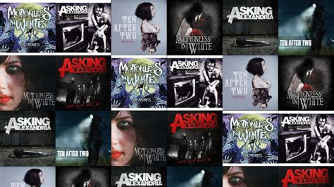 asking alexandria creature pin motionless in white creatures asking alexandria