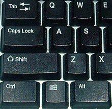 tab key wikipedia