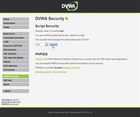 dvwa tutorial xss defacing and cookie stealing with cross site scripting