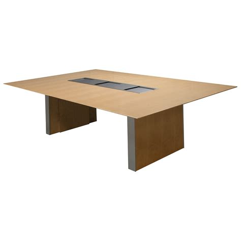 Maple Conference Table Gunlocke Converge Used 8 Foot Veneer Conference Table Maple National Office Interiors And