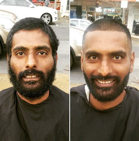 apprentice haircuts melbourne meet the melbourne barber giving the homeless a clean