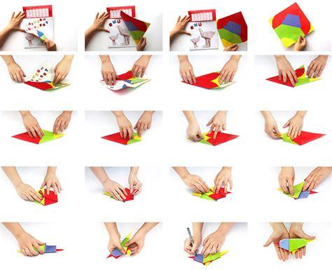 aussigami origami calendar yiying lu creativity
