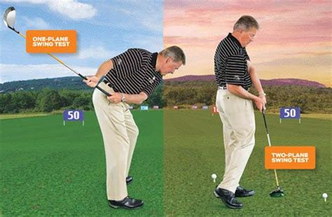 one plane golf swing drills to determine if you re a one plane or two plane swinger