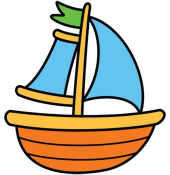 clipart picture of a boat sailboat clipart purple pencil and in color sailboat