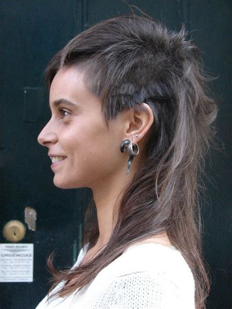 girl mullet haircut articles and pictures girls nackenspoiler and unterschnitt on pinterest