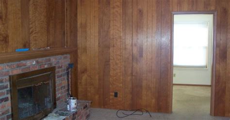 whitewashed wood paneling painted paneling and whitewashed brick fireplace hometalk