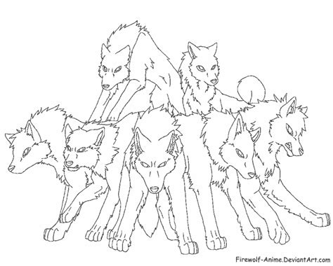 wolf coloring pages pdf anime wolf coloring quoteko coloring home