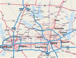 map for dallas map dallas fort worth