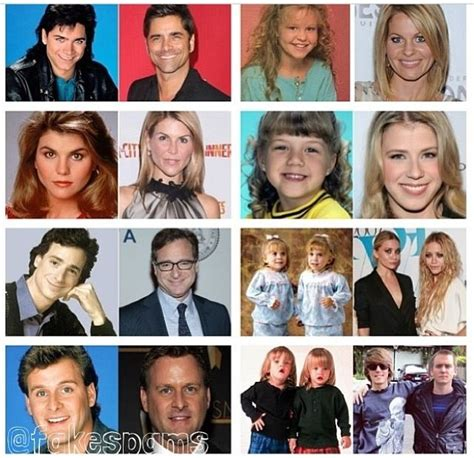 full house cast now and then 38 best celebs then and now images on pinterest then and now celebrities and