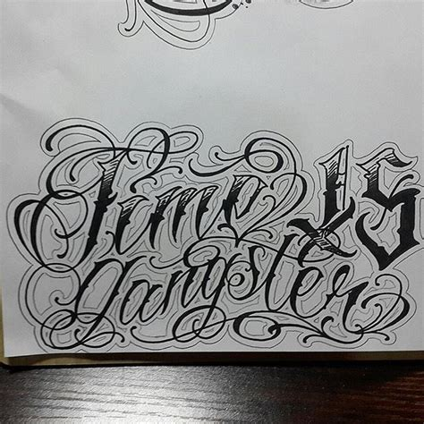 tattoo letters gangster 17 best ideas about gangster letters on pinterest
