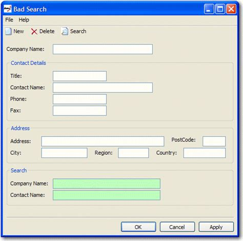 form design standards ssw rules to better windows forms applications