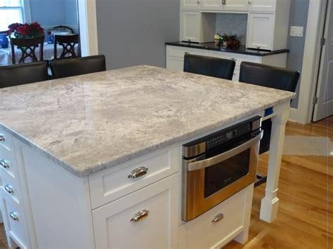 Granite Kitchen Ideas White Granite As Interior Material For Futuristic Kitchen Design Amaza Design
