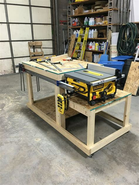 dewalt work bench best 25 table saw station ideas on pinterest table saw