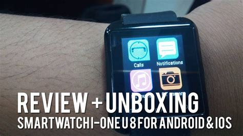 I One U8 Smartwatch Review Review Unboxing Smartwatch I One U8 For Ios And Android