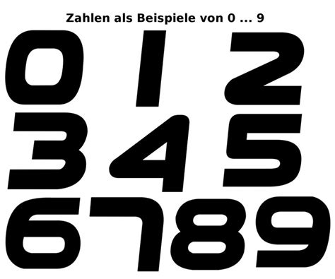 Motogp Startnummern Aufkleber by Startnummer 1 99 Aufkleber Auto Motorrad