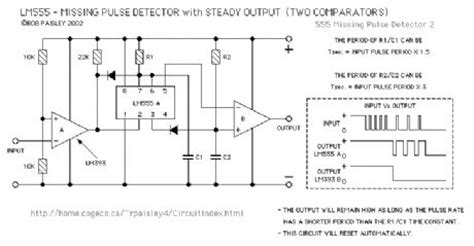pulse detector circuit diagram index 6 measuring and test circuit circuit diagram