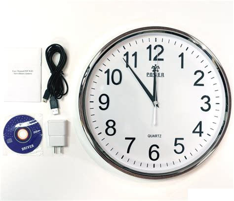 clock wifi buy wifi wall clock wireless hd recording